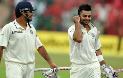 Before Pink Ball Test, Virat Kohli shares his thoughts on surpassing MS Dhoni's captaincy record