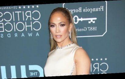 Jennifer Lopez Wears White Gown While Filming 'Shotgun Wedding' After A.Rod Breakup Drama