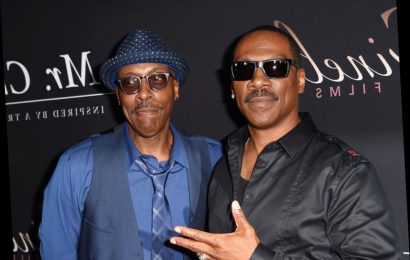 Eddie Murphy's Mom Convinced Him To Meet Arsenio Hall Because She Thought They Looked Like Brothers