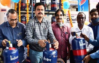 IOCL launches 5-kg LPG cylinder