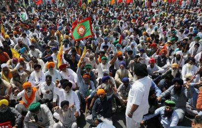 Farmers in Haryana block highway in protest against farm laws