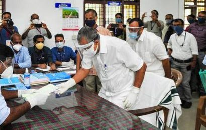 Kerala Assembly elections: Pinarayi Vijayan files nomination papers from Dharmadom
