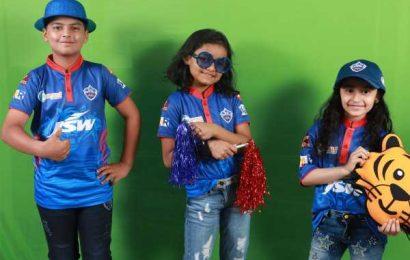 PIX: Delhi Capitals unveil new jersey for IPL-14