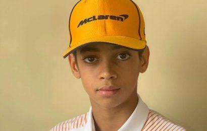 F1: McLaren sign 13-year-old American karter Ugochukwu