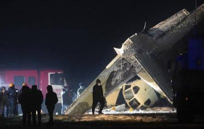 Plane operated by Kazakhstan security agency crashes, four dead