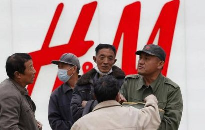 China pressures brands to reject statements on Xinjinag