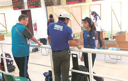 ISSF World Cup: Chinky Yadav wins gold as India claim all three medals in women's 25m pistol