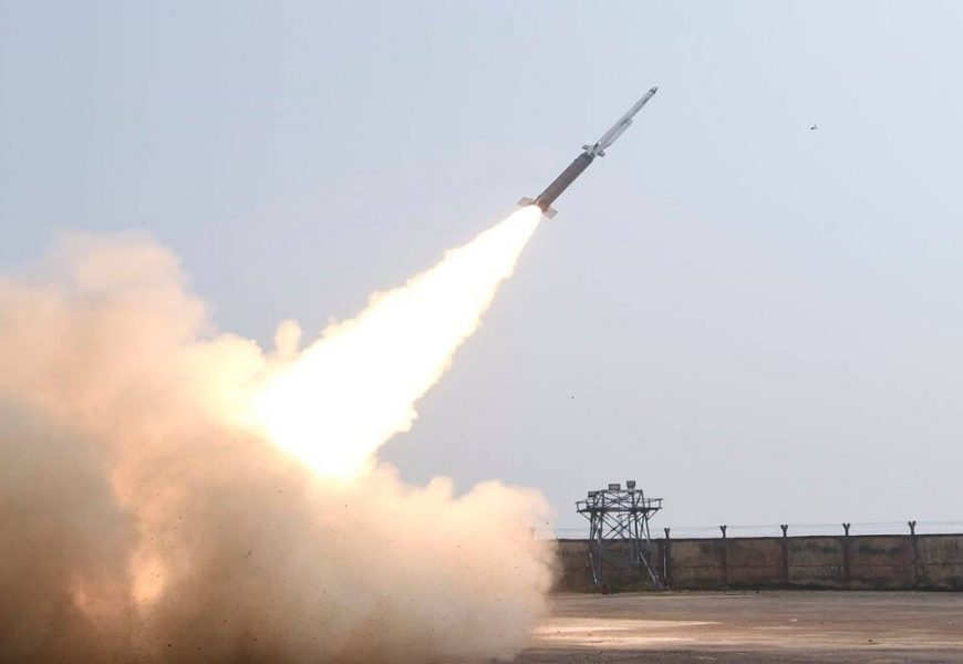 DRDO successfully tests SFDR technology for missiles