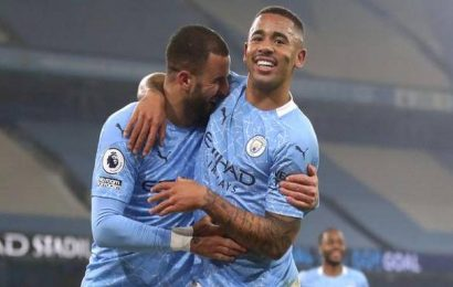 Premier League   Man City equal unbeaten record in 4-1 Wolves demolition