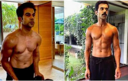 Rajkummar Rao shows off his chiselled bod, six-pack abs for Badhaai Do: 'It wasn't easy to get this transformation'