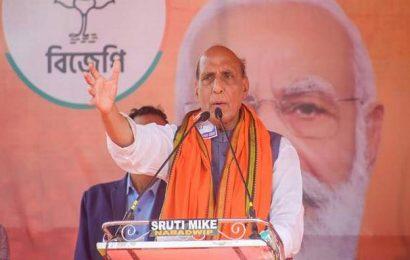 Mamata has taken Bengal back to the 19th century, says Rajnath