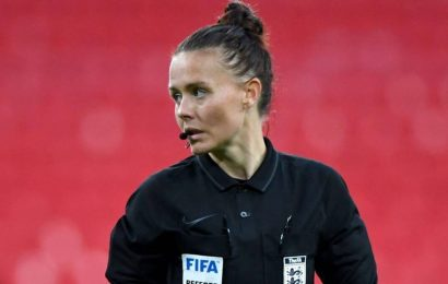 Rebecca Welch first woman to referee in English men's league