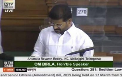 Parliament Proceedings | Congress, government engage in war of words in Lok Sabha over sedition cases