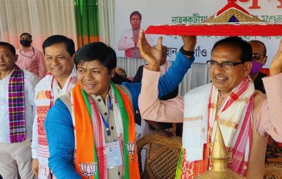 Congress following in Jinnah's footsteps, will destroy India, says Shivraj Singh Chouhan at Assam rally