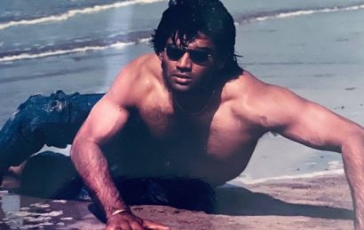 Suniel Shetty posts a hilarious throwback photo, fans say he invented 'Garmi' hook step