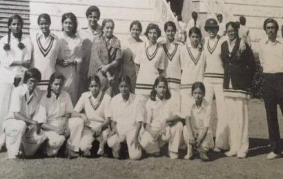 The man who batted for women's cricket