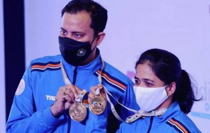 Shooting | India adds two gold; silver for Vijayveer