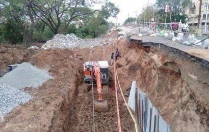 Salai Road overbridge closed for repairs
