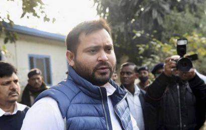 "Bihar Minister Ram Surat Rai ""involved"" in illicit liquor trade: Tejashwi Yadav"