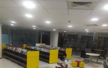 Learning Resource Centre at IIM-Tiruchi is a place to read, work and have fun