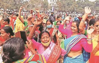 Symbolism to schemes, TMC goes all out to woo woman voter