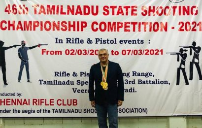 Ajith and his team bag multiple gold medals at Tamil Nadu shooting championship