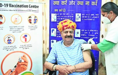 493 people above 60 get first dose of Covid-19 vaccine in Chandigarh