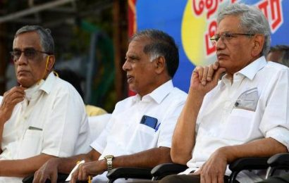 Watch | Sitaram Yechury comments on AIADMK and BJP