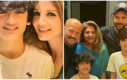 Inside Hrithik Roshan and Sussanne Khan's son Hrehaan's 15th birthday bash