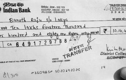 Compensation 'reduced' for Mogilicheruvu tanda oustees