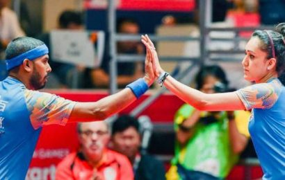 Sharath, Manika seal Olympic berth in mixed doubles after winning Asian Qualification event