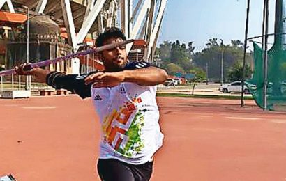 Accident in Haryana, an amputation later, 22-yr-old's Tokyo dreams ride on his javelin