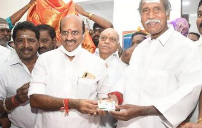 Rangasamy refuses to comment on party's alliance with BJP