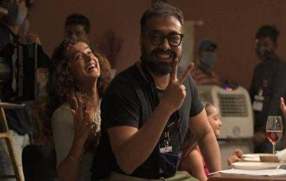Taapsee Pannu, Anurag Kashyap finish 'Dobaaraa' shoot