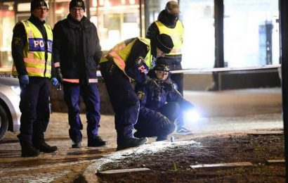 Man injures 8 with axe in Sweden before being shot, arrested