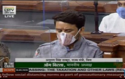 Parliament proceedings | Banks wrote off ₹1.15 lakh cr. in nine months of FY21: Anurag Thakur
