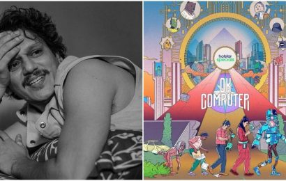 Vijay Varma reveals first look of new Disney Plus Hotstar series OK Computer: 'Proud of India's first sci-fi comedy'