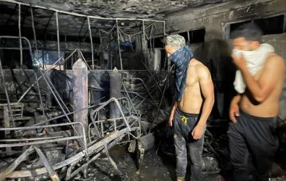 82 killed in Baghdad hospital fire, says Iraq Interior Ministry