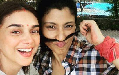 Aditi Rao Hydari, Konkona Sensharma send 'geeli pucchi' to everyone after Neeraj Ghaywan's short in Ajeeb Daastaans gets love