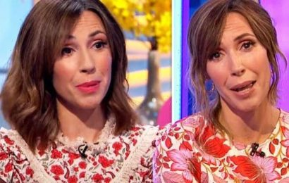 Alex Jones left in tears behind-the-scenes over The One Show viewer's heartbreaking letter