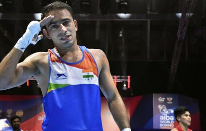 Amit Panghal in semis of boxing tourney in Russia