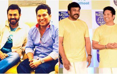 Chiranjeevi, Mahesh Babu and others wish cricket legend Sachin Tendulkar on his birthday