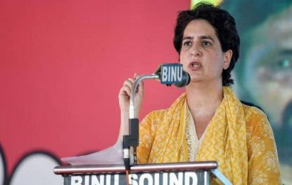 Country in tears, what is there to laugh about, Priyanka asks Modi