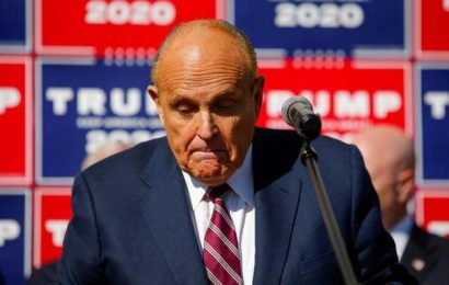 Donald Trump's lawyer Rudy Giuliani's apartment raided in federal probe