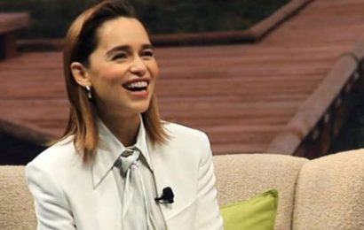 Emilia Clarke reveals the book that helped grieve her father's death
