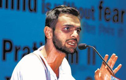 Ex-JNU student Umar Khalid tests positive for Covid in Delhi's Tihar Jail