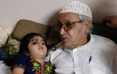 Haji Miyan, repository of stories from the Walled City, dies at 82