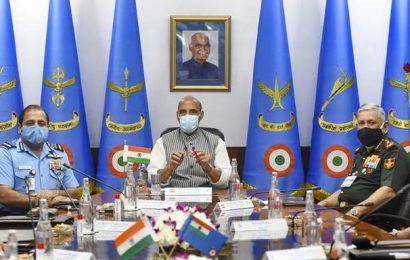 IAF commanders begin 3-day conference; review country's security scenario