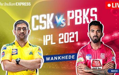 IPL 2021 Live Score, PBKS vs CSK Live Cricket Score: Battle of Kings in Mumbai