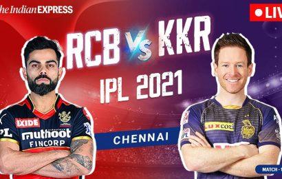 IPL 2021, RCB vs KKR Live Cricket Score: Virat Kohli wins toss, elects to bat